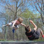 Find en billig trampolin til nedgravning på nettet